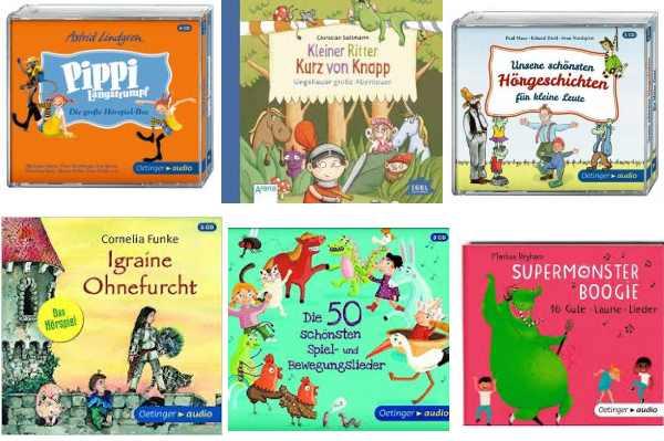 Hier eine Auswahl der Hörbücher/CDs, die ihr gewinnen könnt...
