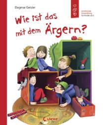 Dieses Buch zeigt einfühlsam, welche Facetten des Ärgerns es gibt. Gleichzeitig bietet es Anlass, mit Kindern über ihre Gefühle zu sprechen, und vermittelt behutsam zwischen den Akteuren.