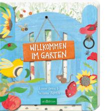 Meine beiden Jungs nehmen sich das Buch fast täglich zur Hand, betrachten es immer wieder, entdecken immer wieder neue kleine Details und vergleichen die Bilder mit unserem Garten.