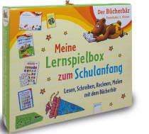 Meine Lernspielbox zum Schulanfang Lesen, Schreiben, Rechnen, Malen mit dem Bücherbär