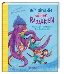 """Tolle Kita-Abenteuer mit den 5 Rabauken Mika, Emil, Charlotte, Nino und Frieda erleben. Alle zusammen gehen in die Kindergarten Gruppe Namens """"Die Oktopuse""""."""