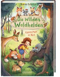 Die Waldtiere helfen den Kindergartenkindern aus dem Waldkindergarten