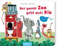 Der ganze Zoo geht aufs Klo ist wirklich ein witziges und lehrreiches Buch für Kinder ab zwei Jahren. Meine Tochter schaut es sich immer wieder gerne an