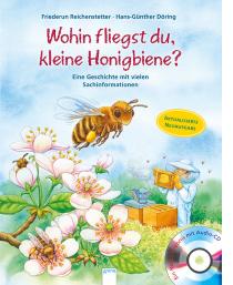 Seit dem uns der Bienenschwarm besuchte, ist das Buch im Dauergebrauch. Immer wieder wird sich an unser Erlebnis erinnert und dann kommt auch das Buch wieder zum Einsatz um gewissen Bilder nochmal anzuschauen oder um zu vergleichen.