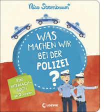 Das Tolle an diesem Polizeibuch ist, einmal angefangen, kann es einige Zeit dauern. Die Kinder fordern es immer wieder ein, weil der Spaßfaktor so enorm ist. Zugleich werden die Kleinen für das Vorlesen begeistert,