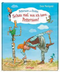 """Mir als Mutter hat das Buch """"Pettersson und Findus- Schau mal, was ich kann, Pettersson"""" sehr gut gefallen. Es bietet eine prima Vorlage um mit seinem Kind ins Gespräch zu kommen."""