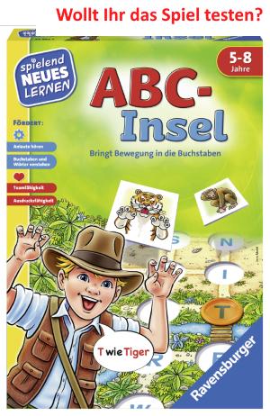 Die ABC-Insel bringt Bewegung in die Buchstaben