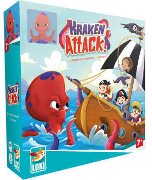 Ein tolles kooperatives Verteidigungsspiel! Rettet Euer Schiff vor der Krake! Vorsicht! Die Tentakel eines furchterregenden Kraken sind gerade aus den Wellen emporgeschossen!
