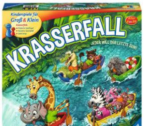 Spannender Wettkampf am Wasserfall