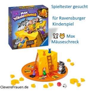 Spieltester gesucht für Ravensburger Kinderspiel