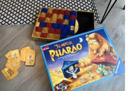 Das Pharao Junior Familienspiel beinhaltet einfache Spielregeln, die klar und verständlich für Kinder ab 5 Jahre sind.