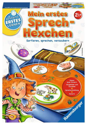 zauberhaftes Sprach- und Sortierspiel für Kinder ab 2,5 Jahren