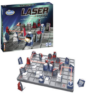 Das Spiel kombiniert auf einzigartige Weise faszinierende Lasertechnik mit dem Spielgefühl von Schach.