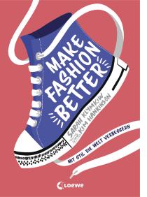 Ein Sachbuch zum Thema nachhaltige Mode in tollem, modernen Design mit vielen kreativen Tipps und wichtigen Informationen für Kinder ab 10 Jahren