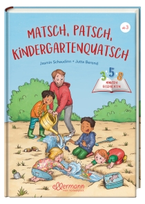 Es geht um die spannende Welt des Kindergartens. Egal ob es kleine Abenteuer oder liebevolle Geschichten zum Teilen und Helfen
