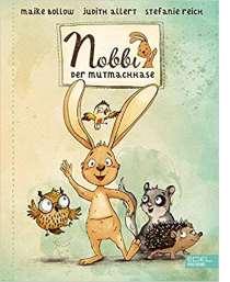 Nobbi ist ein ganz besonderer Hase. Nicht nur weil er quirlig, frech und selbstbewusst ist und sich immer um die Tiere in seiner Umgebung sorgt und kümmert