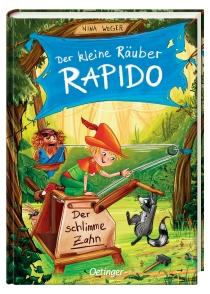 Ein bisschen Wickie. Ein bisschen Robin Hood. Und ganz viel Räuberhauptmanns-Sohn Rapido. Was ist schlimmer als ein Wirbelsturm im Räuberwald?
