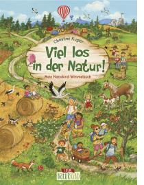 Ein wunderschönes Papp-Wimmelbuch für Kinder ab 2 Jahren, in dem die Natur auf Feld, Wiese und im Wald entdeckt wird und die heimische Tier- und Pflanzenwelt vorgestellt wird.