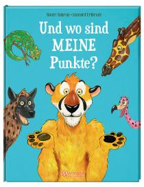 Ein Gepard ohne Punkte – wo gibt's denn sowas? Auf der Suche nach seinen Punkten erntet Herr Gepard Hohn und Spott, bis er sich ganz unterlegen fühlt.