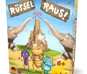 """Bei Kommando """"Rüssel Raus!"""" müssen alle Spieler einen oder eben keinen..."""