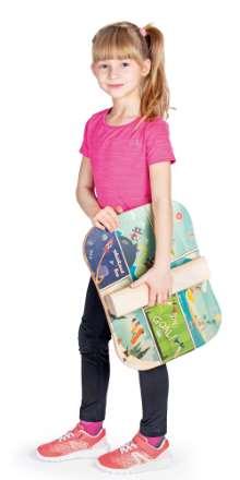 Ein Wackelbrett oder Balance Board für Kinder verbindet es elegant App-basierte Spiele mit Fitness- und Gleichgewichtsübungen, damit Kinder sich auch zuhause bei jedem Wetter und begrenzten räumlichen Verhältnissen austoben können
