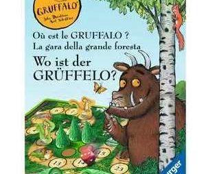 Spieltester gesucht für Ravensburger Kinderspiele-Fans: Wo ist der Grüffelo?