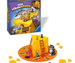 Spieltester gesucht für Ravensburger Kinderspiel 🐭🐱 Max Mäuseschreck