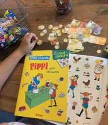 Wer Einkaufen langweilig findet, der war noch nicht mit Pippi Langstrumpf unterwegs.