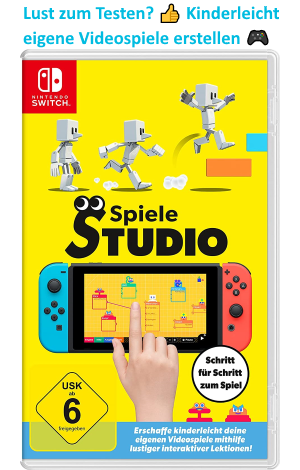 Jetzt können Kinder eigene Videospiele erstellen